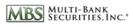 Multi-Bank Securities
